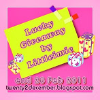 @28 feb : Lucky Giveaway by Littleimie