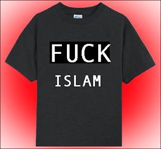 Fuck Islam T Shirt 35