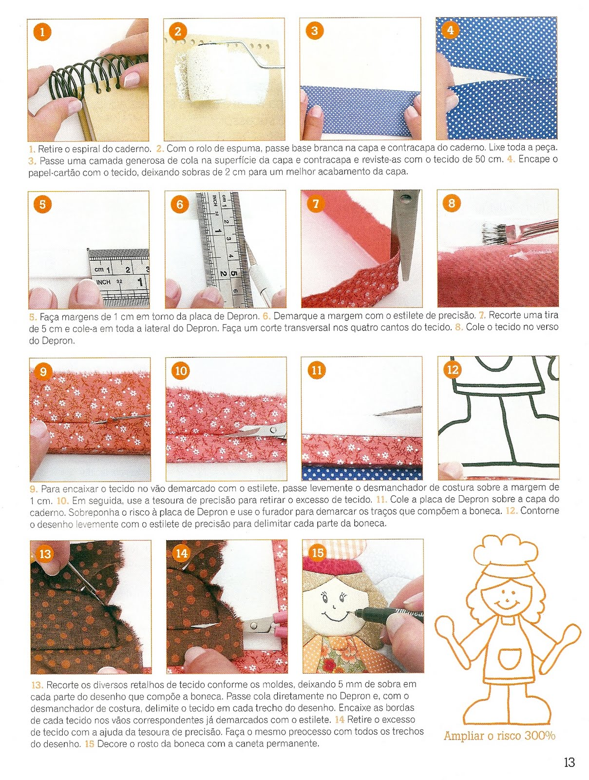 Fazer Artesanato Frases ~ Artesanato e Cia Caderno de receitas em patchwork no isopor