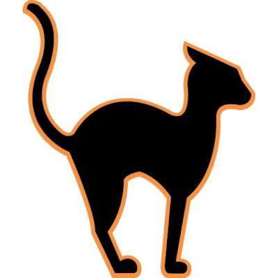 free halloween clipart: Halloween Cat Clipart
