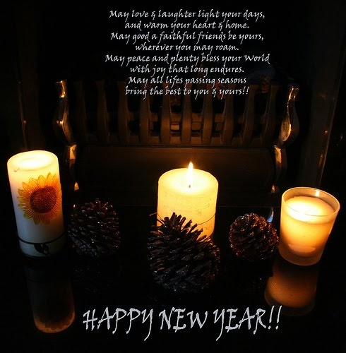 New Year Cards: New Year Blessings