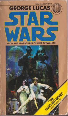 Star Wars paperback from my library.