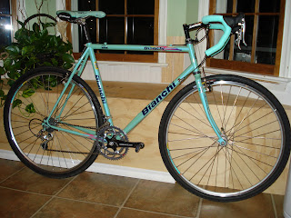 Bicycle Addiction Bianchi Mega Pro Steel Cyclocross