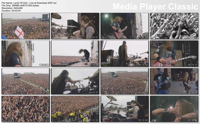 Izal❼x Blog's: Lamb of God - Live at Download Festival (2007)