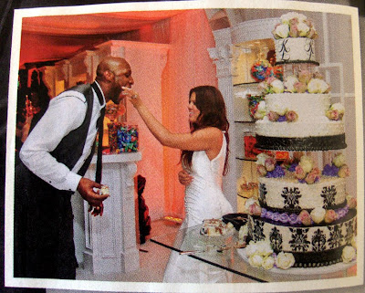 khloe kardashian wedding cake hansen s cakes ok magazine odom wedding issue 16638