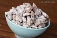 Muddy Buddies {PB & Choco Crunch}