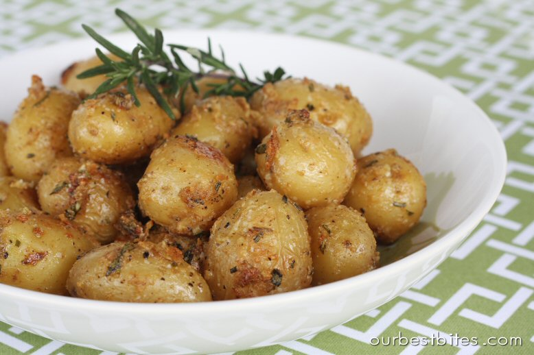Garlic Rosemary Roasted Baby Potatoes Our Best Bites