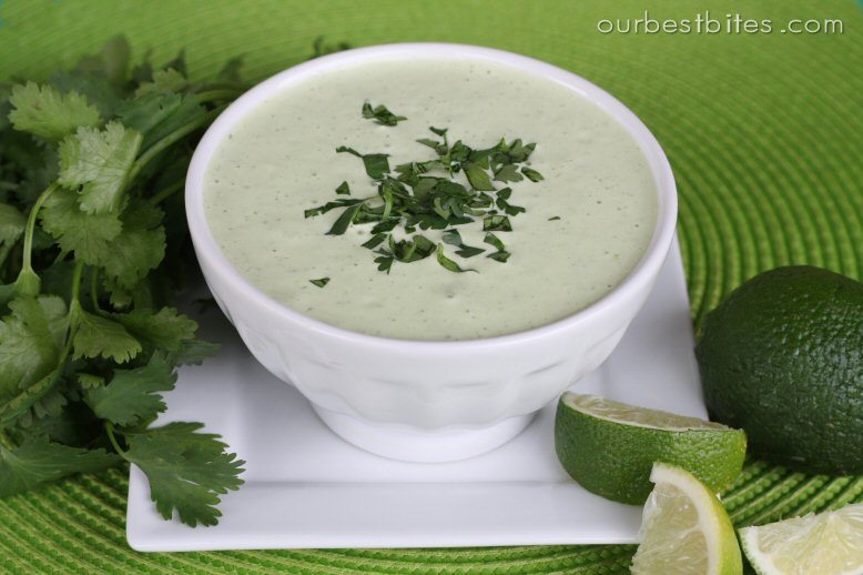 Creamy LimeCilantro Dressing Our Best Bites