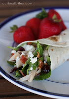 Quick Fix: Sweet & Salty Salad Wrap