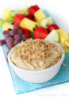 Caramel Toffee Fruit Dip