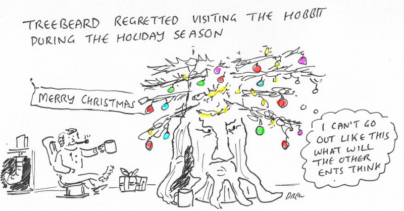Lord Of The Rings Xmas Cartoon