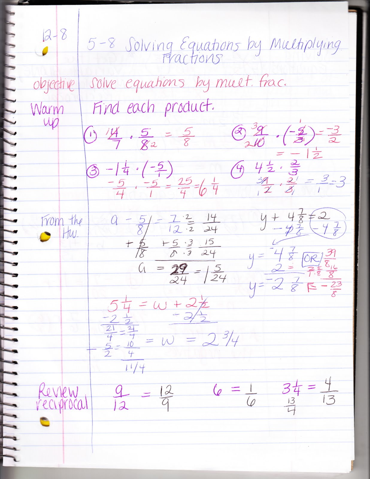 Ms Jean S Classroom Blog 5 8 Solving Equations By