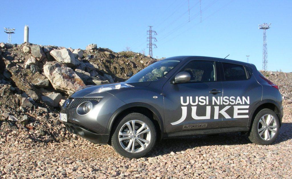 Nissan Juke Koeajo