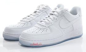 SoleSurvivor Detroit: Nike Air Force 1 WhiteWhiteICE 2009