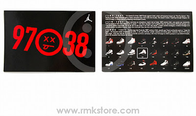 sneakers for cheap 7f2e9 b7de6 ... Jordan Retro Cards ... of the kicks from 1 to 23 while even managing to  slide the ...