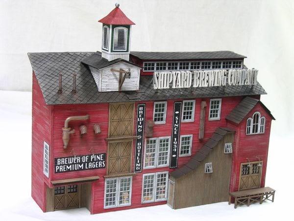 Craftsman Structures Shipyard Brewery Bar Mills Models