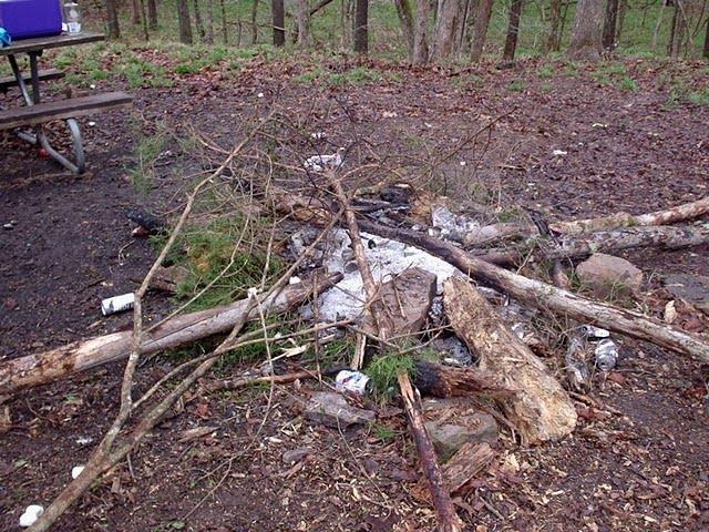 Leave No Trace Community Blog: Burning Trash