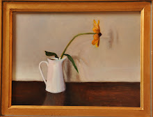 """Flower in White Pitcher"""