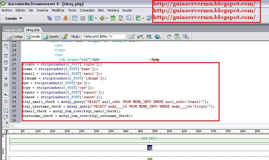 Procesando variables enviadas por el registro en php