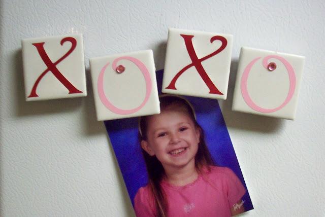 XOXO magnets