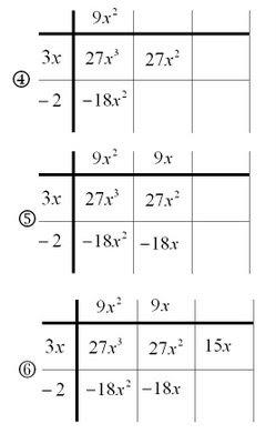 Dividing Polynomials - The Grid Method - mathrecreation