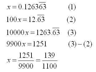 mathrecreation: Decimals to Fractions