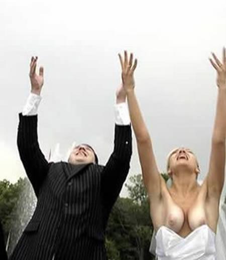 strapless wedding dress oops