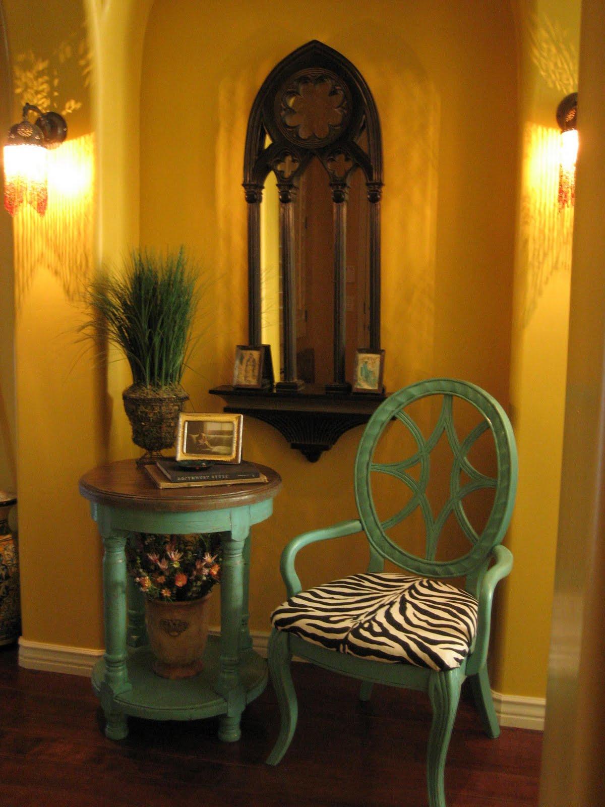 European Paint Finishes Aqua Accent Table Amp Chair