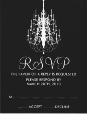 Rsvp email etiquette