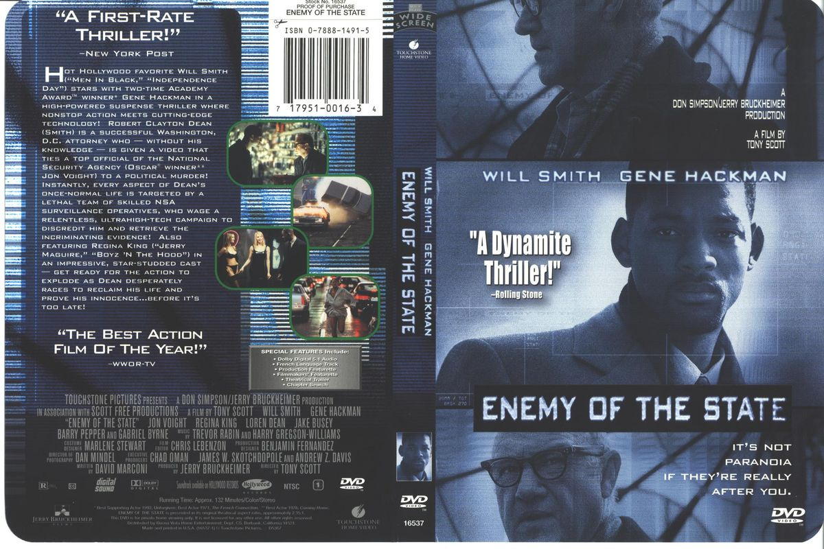 Movies Collection Enemy Of The State 1998