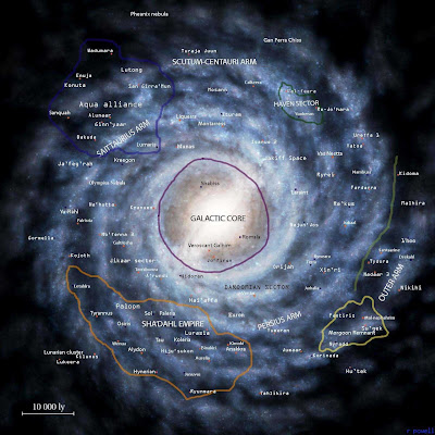 Milky Way Planets - Pics about space