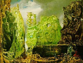'The Eye of Silence', Max Ernst, 1943-44