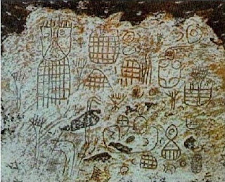 Indian Rock Art Paintings