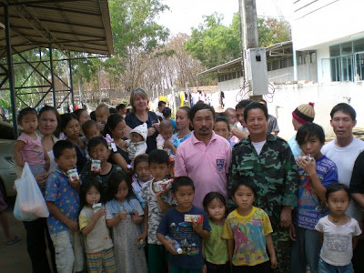 At the refugee camp in Nong Khai, Thailand, my...   Nong Khai Thailand Refugee Camp