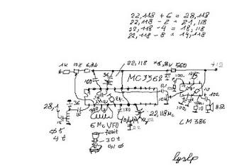 LY3LP laboratory: MC3362 multiband CW QRP RX
