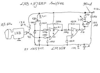 LY3LP laboratory: NJQRP Sniffer + LNB