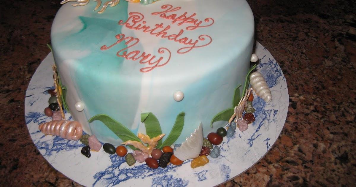 Sugar Chef Ocean Theme Cake