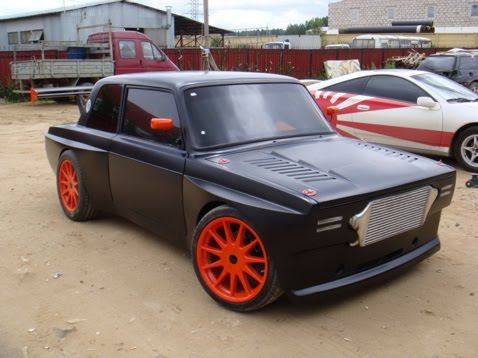 Fast Cars Lada Old