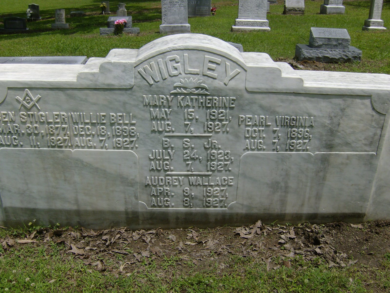 Cemeteries Of Dancing Rabbit Creek Tombstone Tuesday Wigley