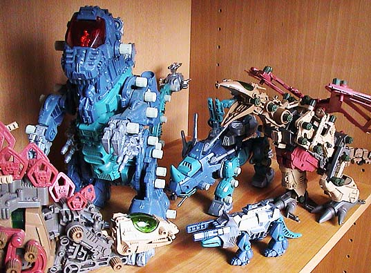 Zoids Robo Strux And Starriors Oh My