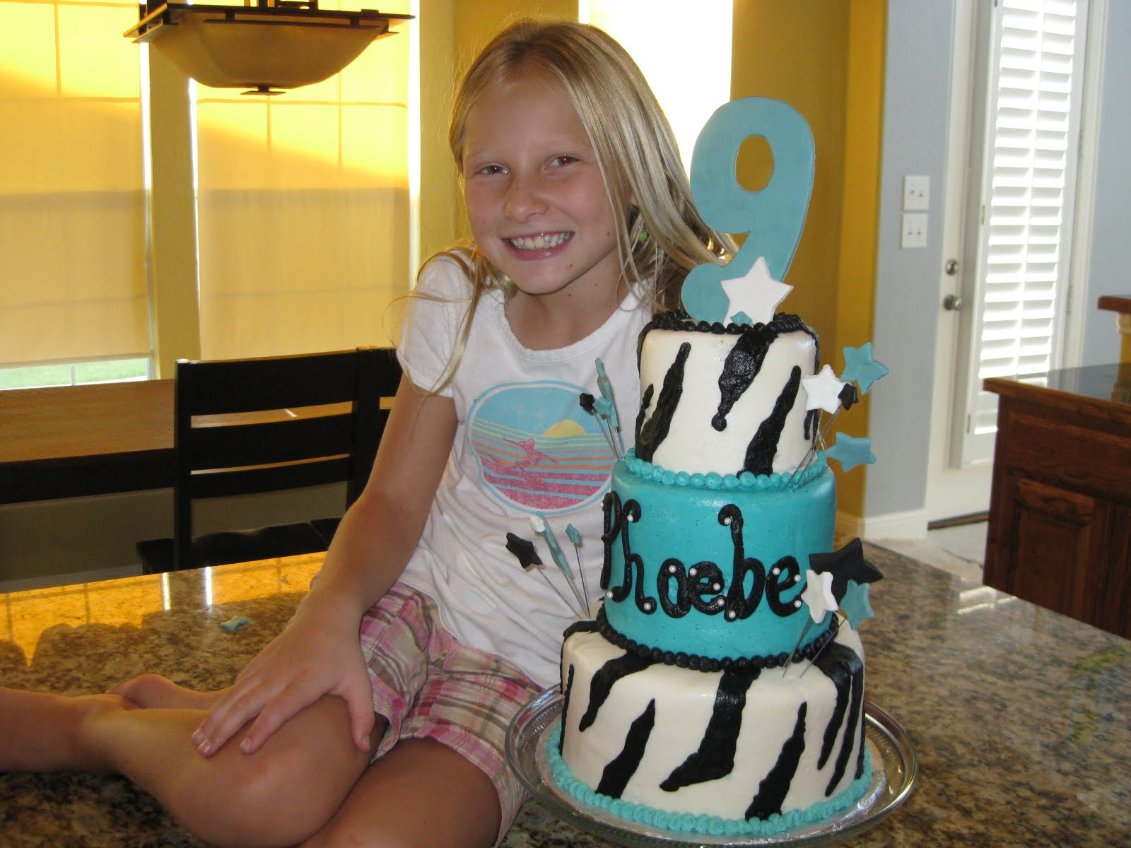 They call me mama Phoebes 9th Birthday
