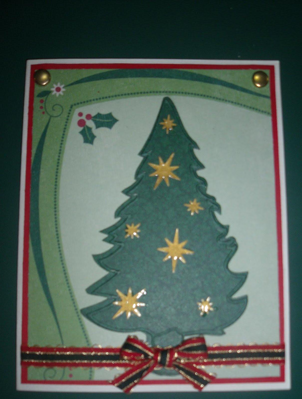 tarjetas navideas hechas a mano