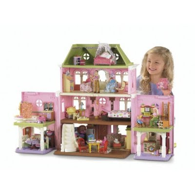My Crazy Life With A Toddler Fisher Price Loving Family Grand Dollhouse