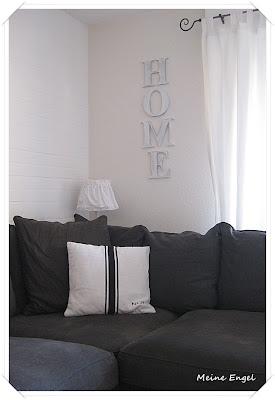 meine engel grau so gem tlich. Black Bedroom Furniture Sets. Home Design Ideas
