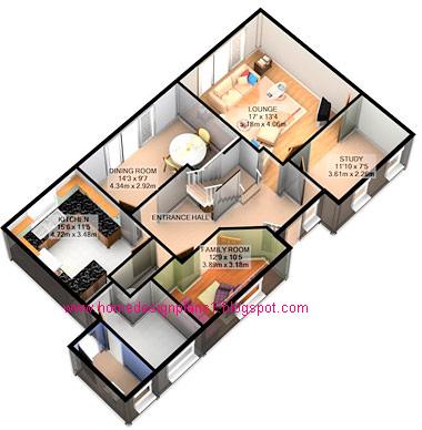 Western Home Decorating 3D Design Plans