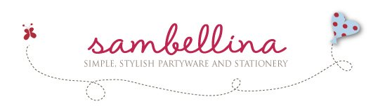 Sambellina's Party - Simple, Stylish Partyware and Stationery