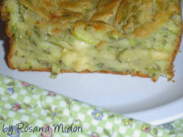 Cake Sal Ef Bf Bd Courgettes Menthe