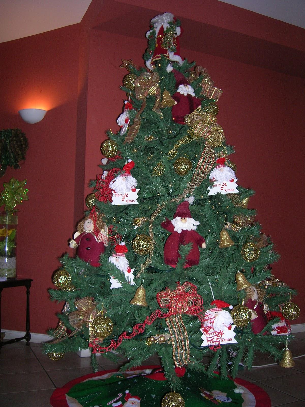 Decoraci 243 N Y Navidad Pinos Navide 241 Os
