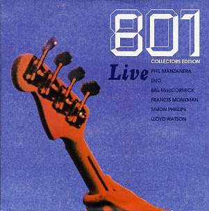 801 Live Collectors Edition CD Review (Expression Records)