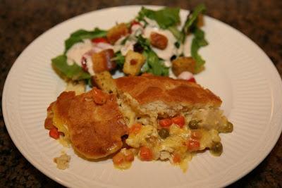 Paula Deens Hurry Up Chicken Pot Pie Recipes Recipe